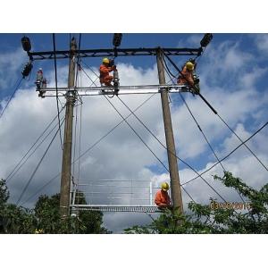 Xây lắp hệ thống lưới điện trung thế